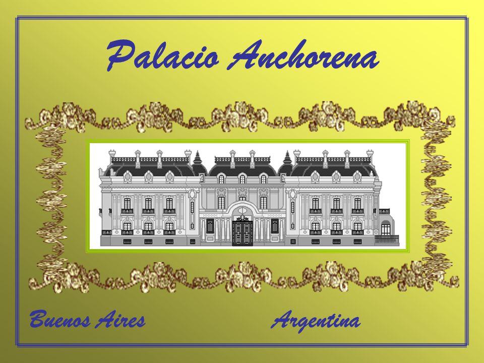 Palacio Anchorena Buenos Aires Argentina