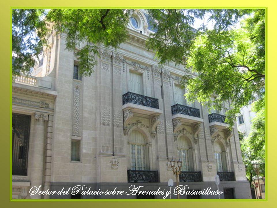 Sector del Palacio sobre Arenales y Basavilbaso