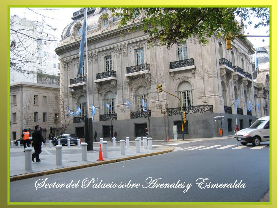 Sector del Palacio sobre Arenales y Esmeralda