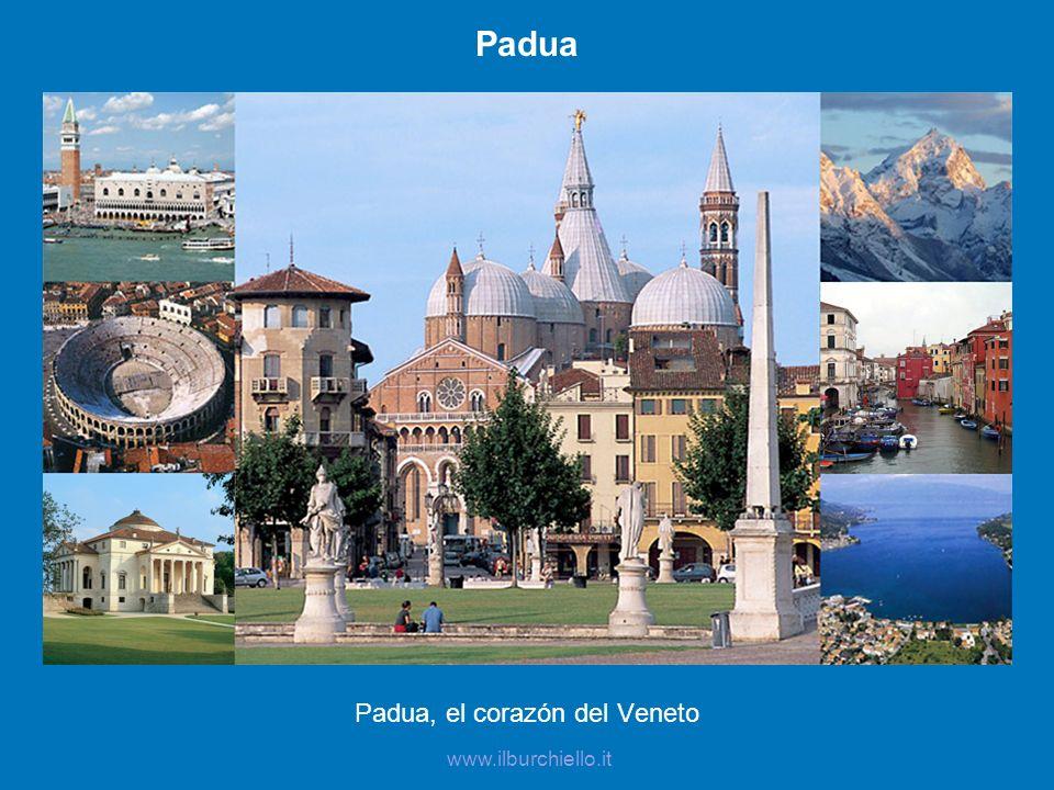 Padua, el corazón del Veneto