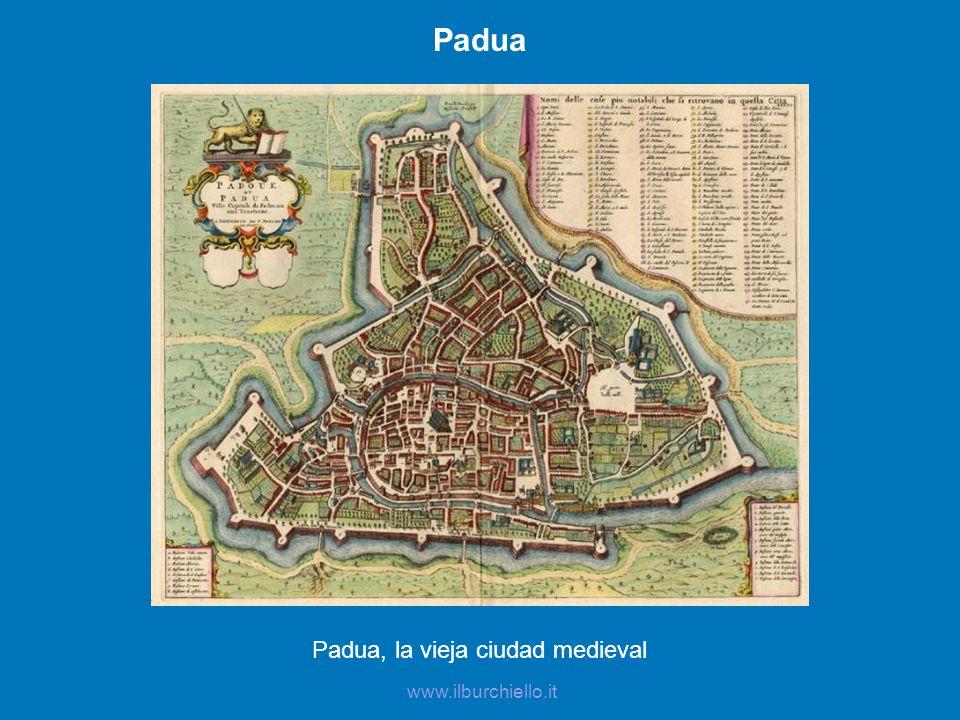 Padua, la vieja ciudad medieval