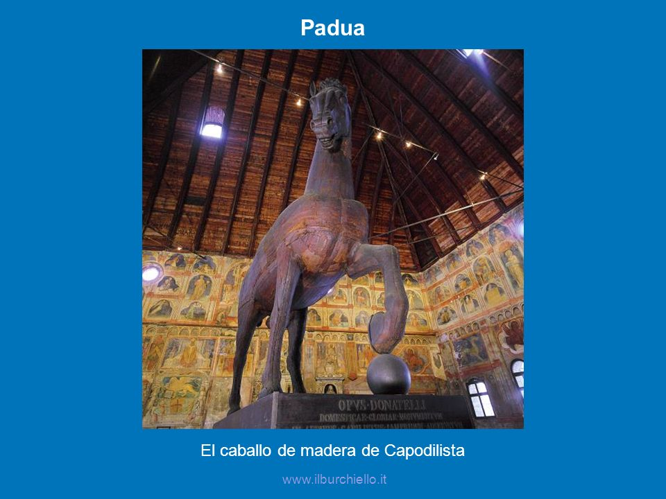 El caballo de madera de Capodilista