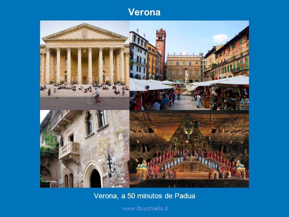 Verona, a 50 minutos de Padua