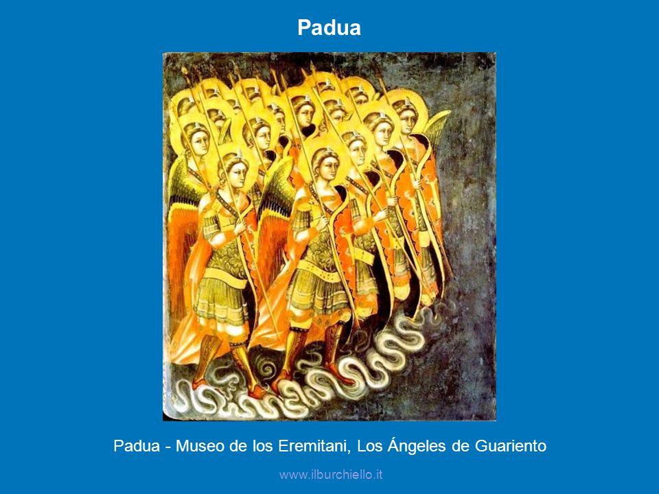 Padua - Museo de los Eremitani, Los Ángeles de Guariento