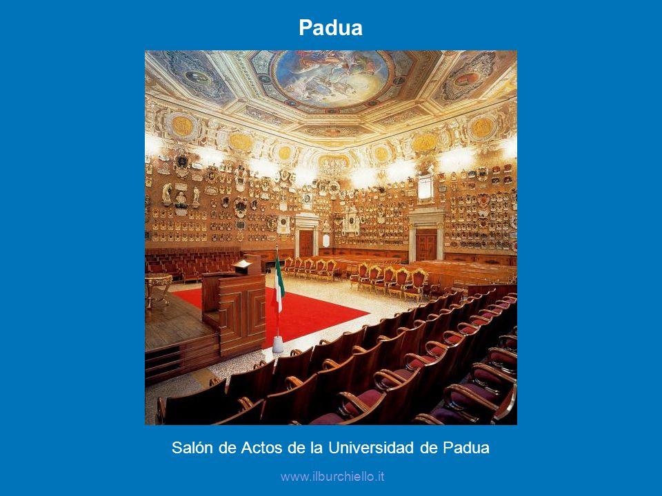 Salón de Actos de la Universidad de Padua