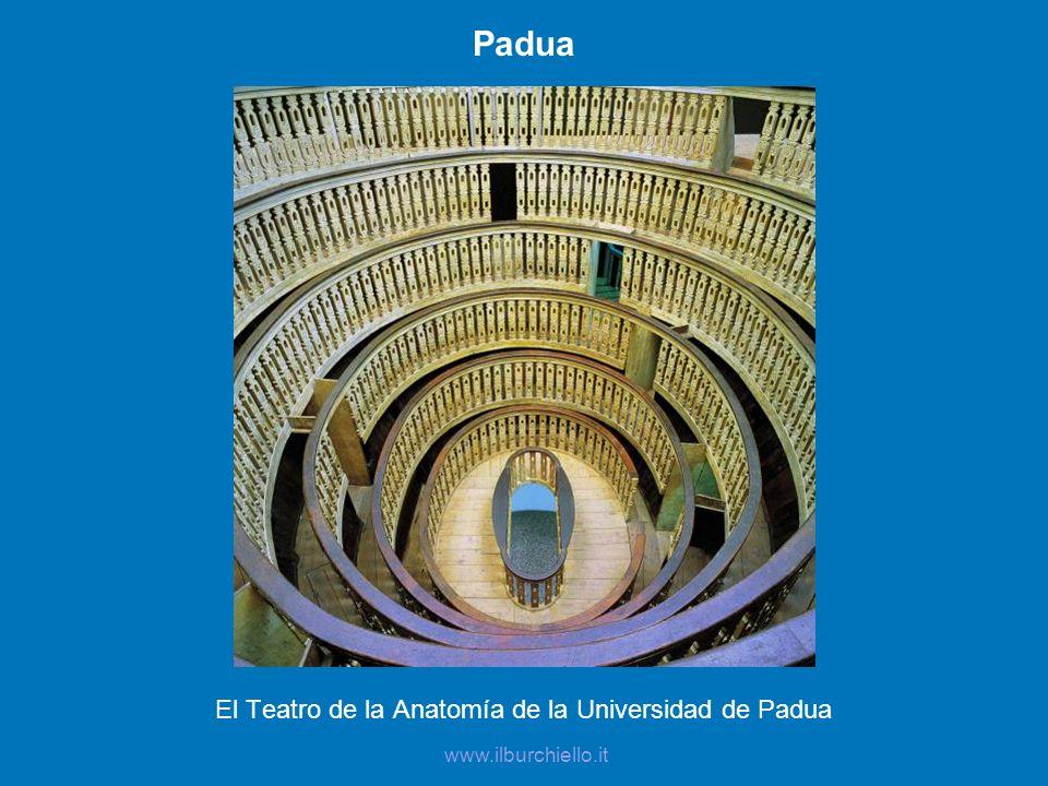El Teatro de la Anatomía de la Universidad de Padua