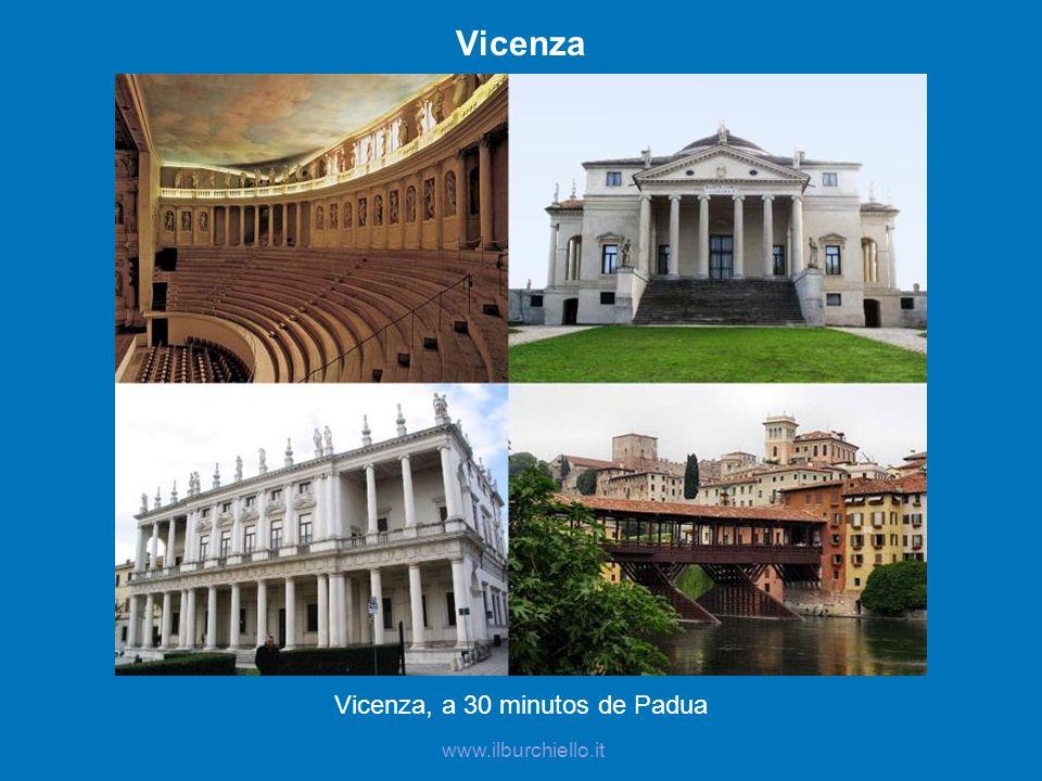 Vicenza, a 30 minutos de Padua