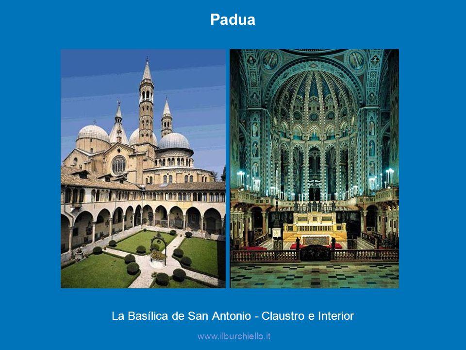 La Basílica de San Antonio - Claustro e Interior