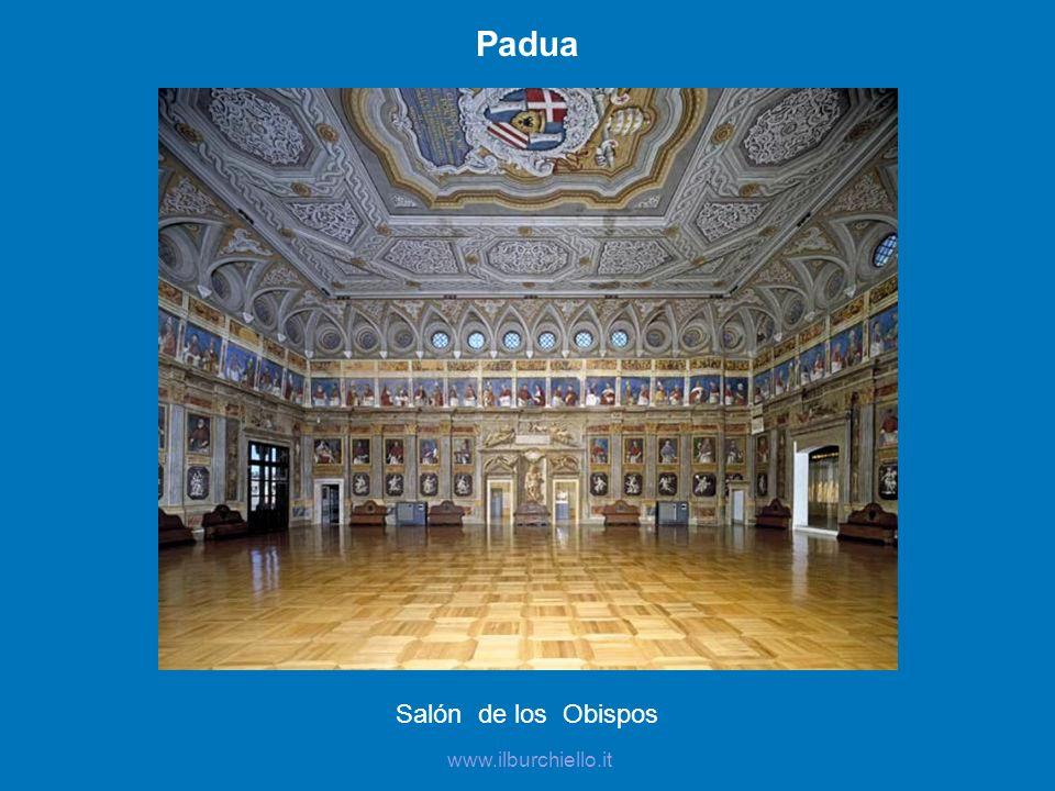 Padua Salón de los Obispos www.ilburchiello.it