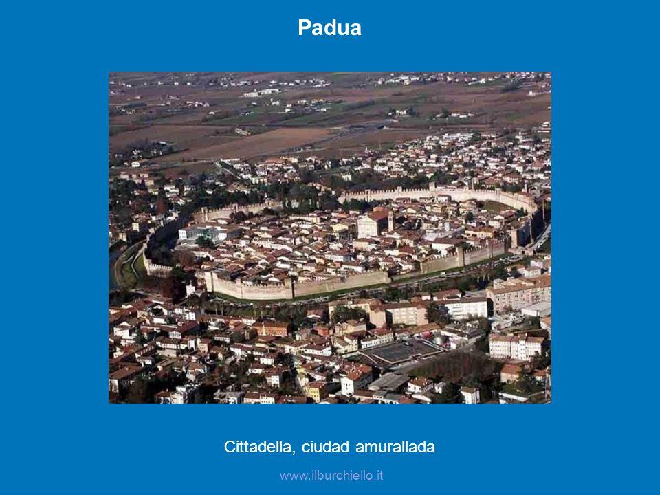 Cittadella, ciudad amurallada