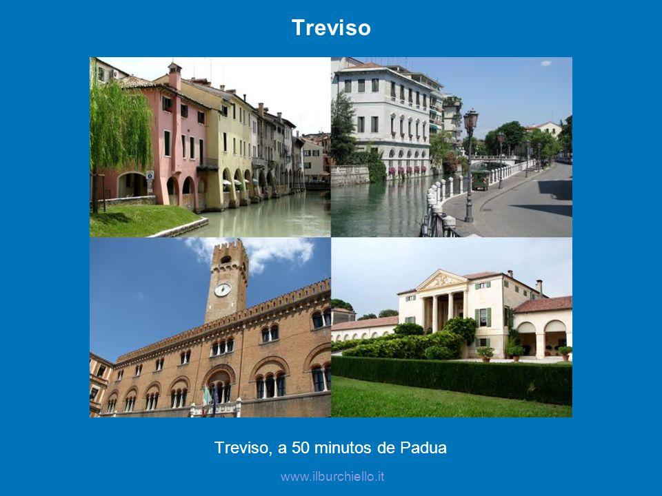 Treviso, a 50 minutos de Padua