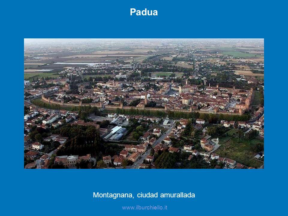 Montagnana, ciudad amurallada