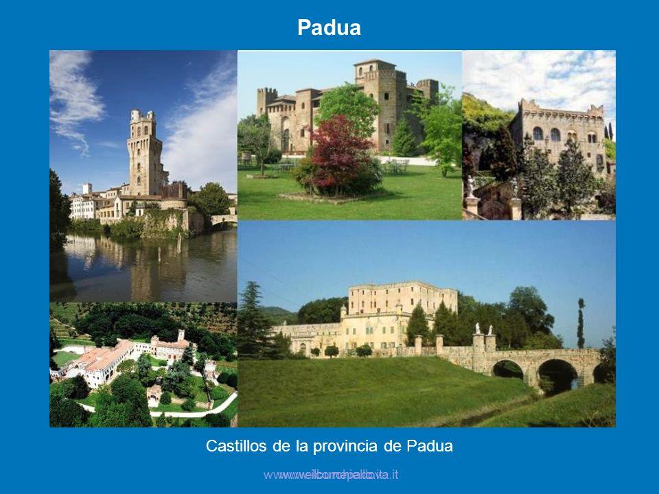 Castillos de la provincia de Padua