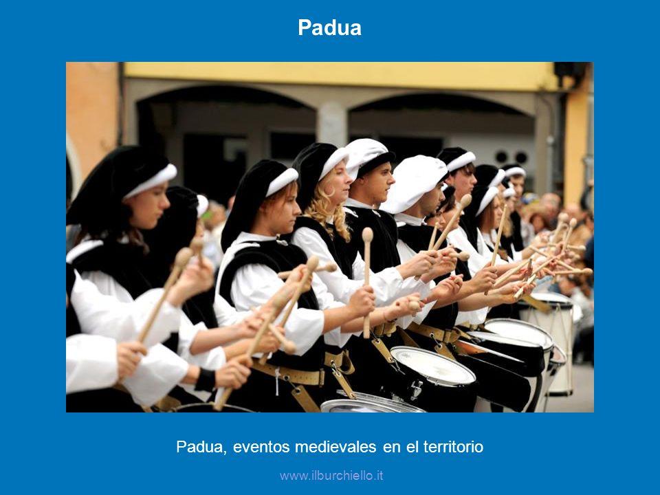 Padua, eventos medievales en el territorio