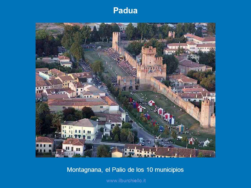 Montagnana, el Palio de los 10 municipios