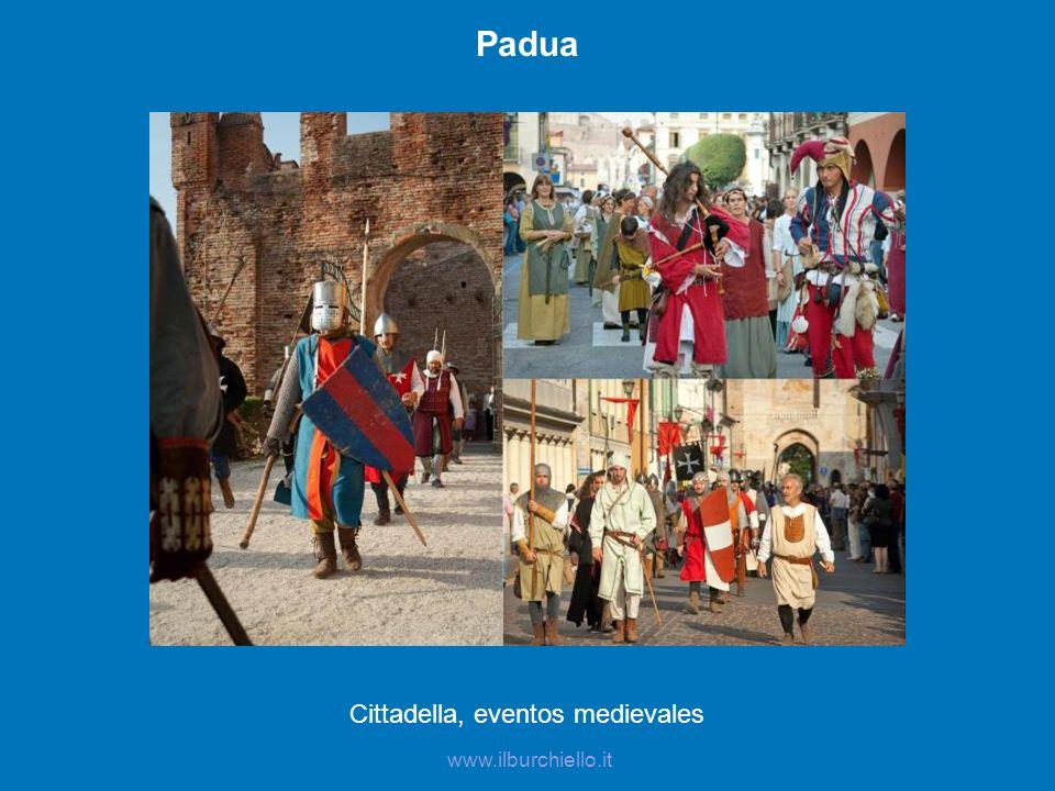 Cittadella, eventos medievales