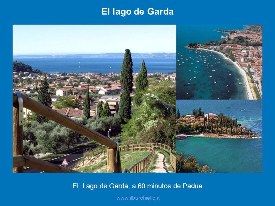 El Lago de Garda, a 60 minutos de Padua