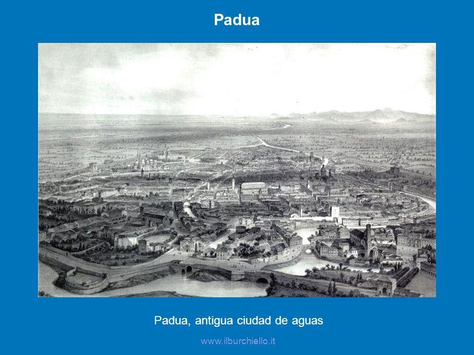 Padua, antigua ciudad de aguas