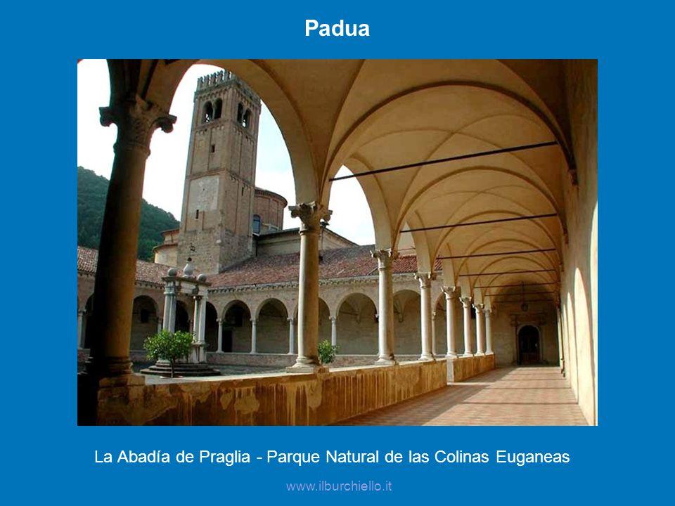 La Abadía de Praglia - Parque Natural de las Colinas Euganeas