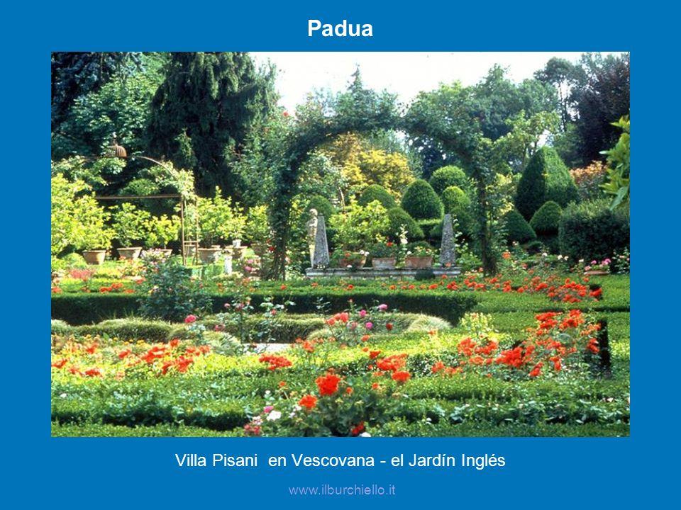 Villa Pisani en Vescovana - el Jardín Inglés