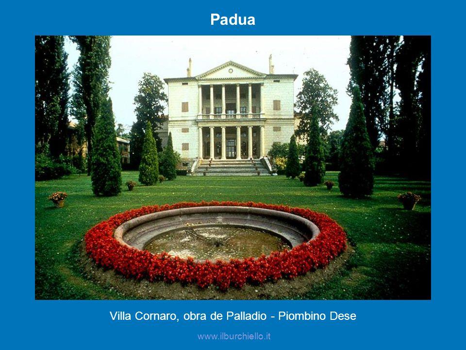 Villa Cornaro, obra de Palladio - Piombino Dese