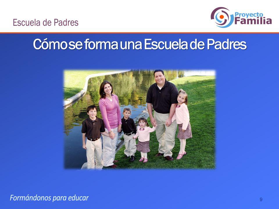 Cómo se forma una Escuela de Padres