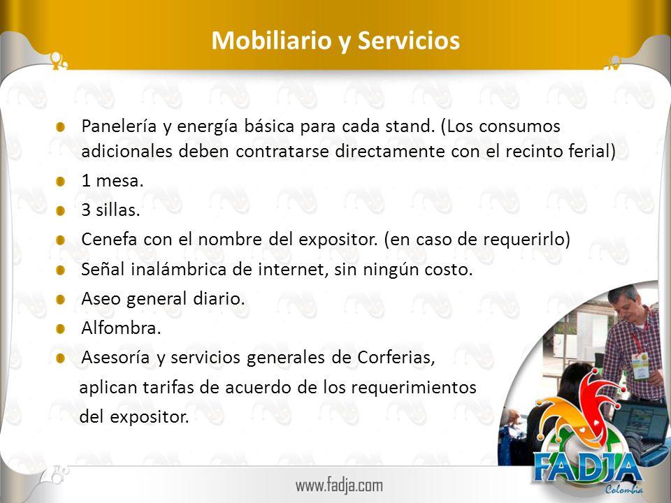 Mobiliario y Servicios