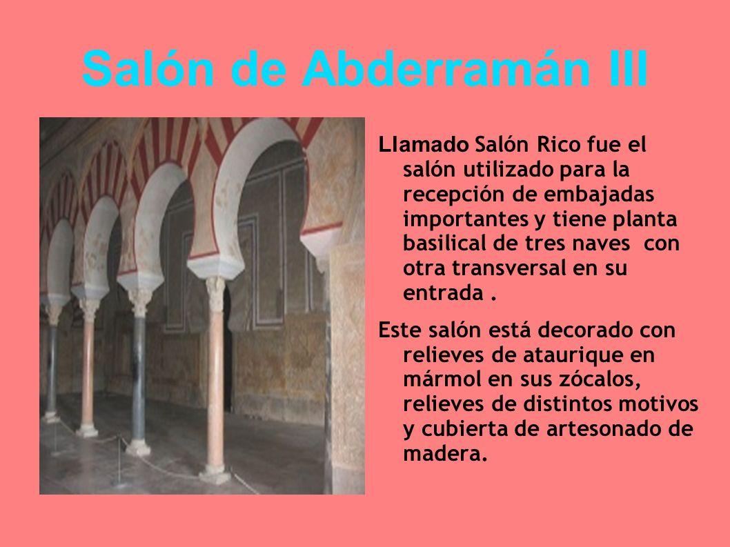Salón de Abderramán III
