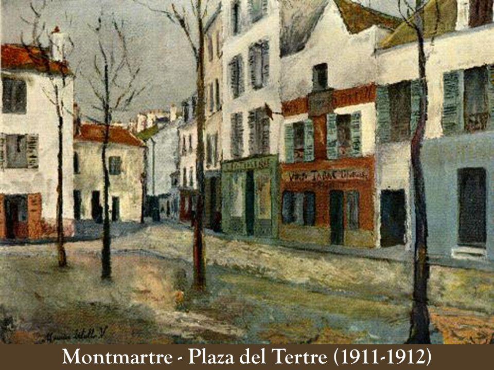 Montmartre - Plaza del Tertre (1911-1912)