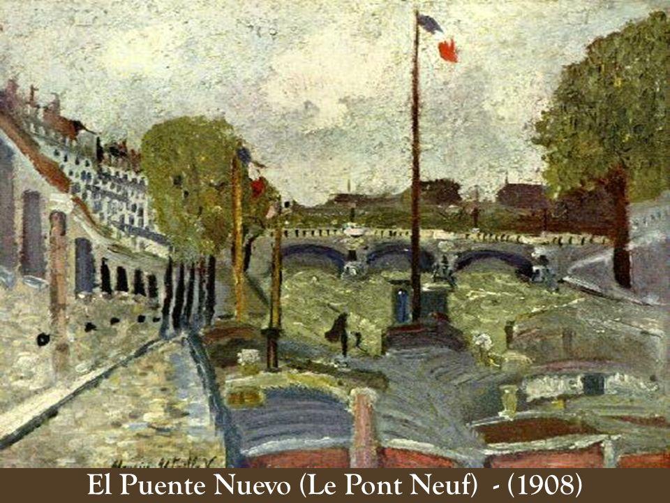 El Puente Nuevo (Le Pont Neuf) - (1908)