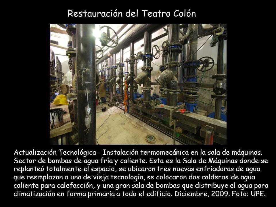 Restauración del Teatro Colón
