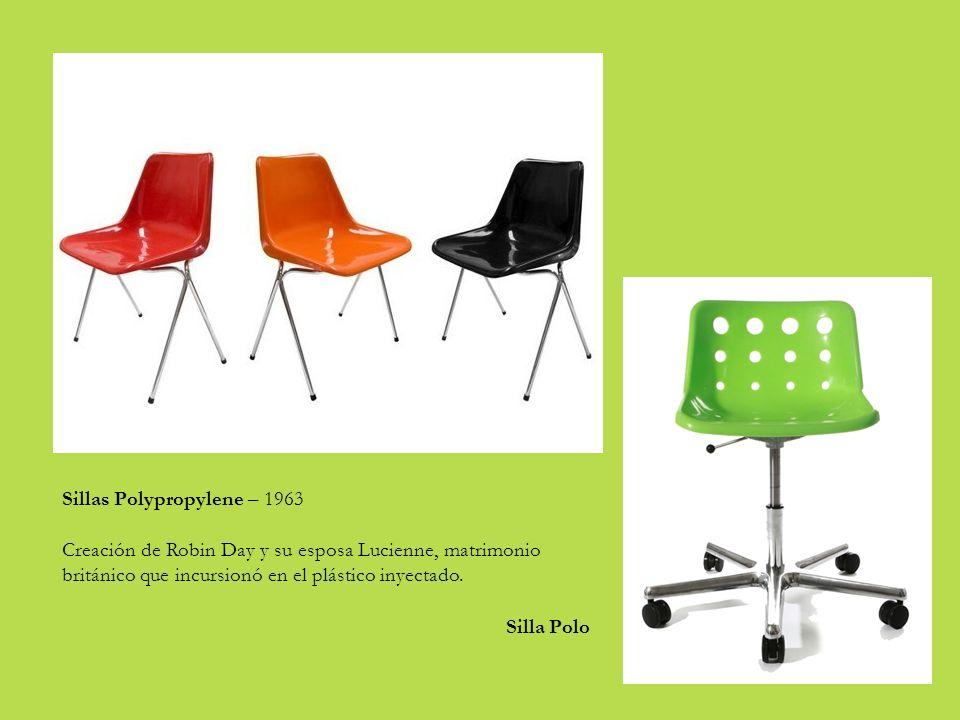 Sillas Polypropylene – 1963