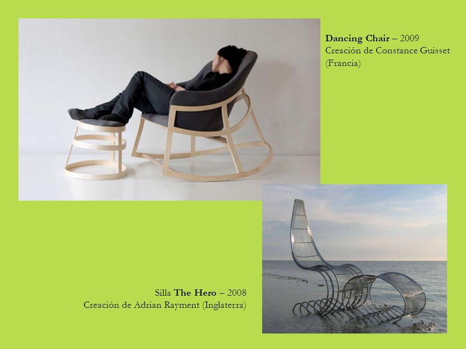 Dancing Chair – 2009 Creación de Constance Guisset (Francia) Silla The Hero – 2008.