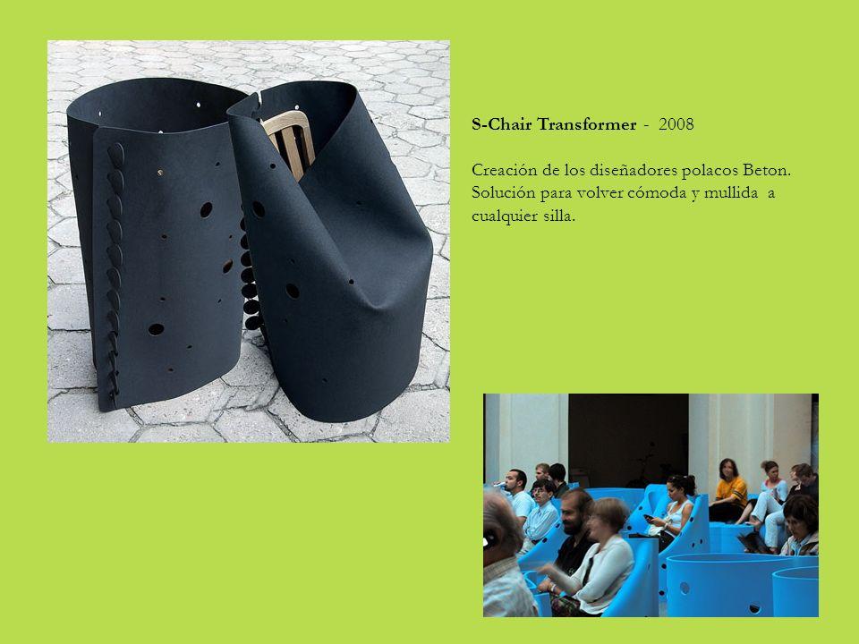 S-Chair Transformer - 2008 Creación de los diseñadores polacos Beton.