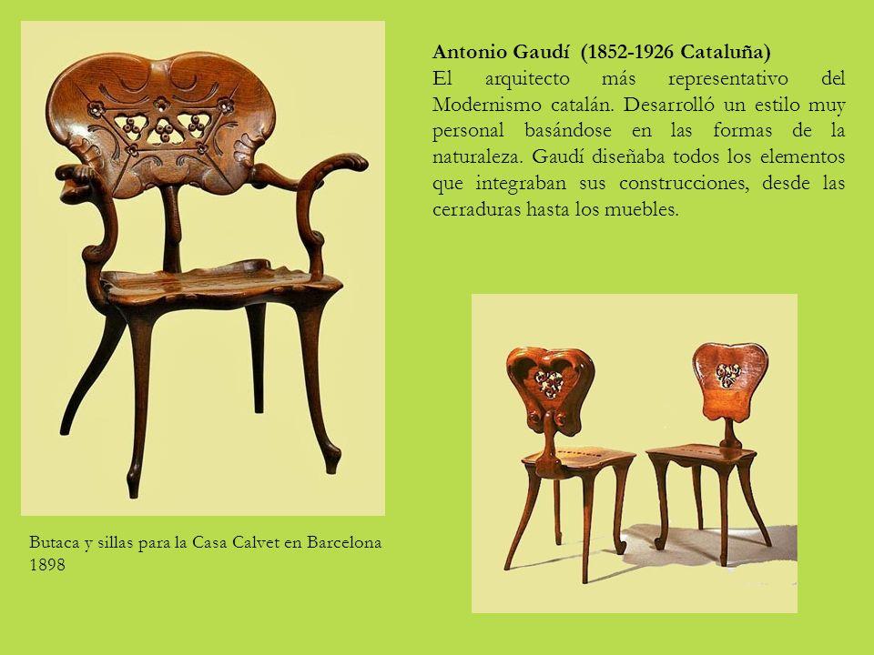 Antonio Gaudí (1852-1926 Cataluña)