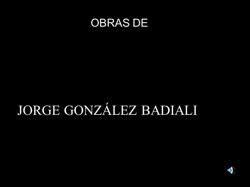 JORGE GONZÁLEZ BADIALI