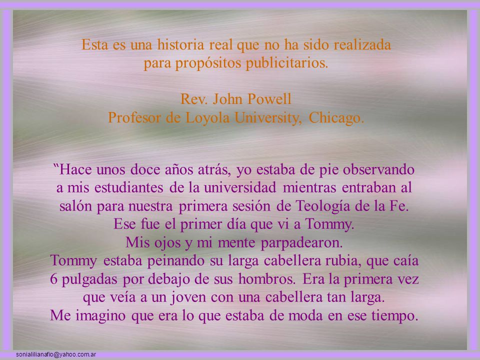 Profesor de Loyola University, Chicago.