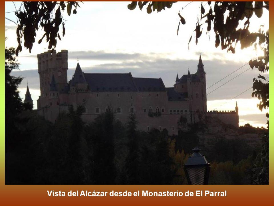 Vista del Alcázar desde el Monasterio de El Parral