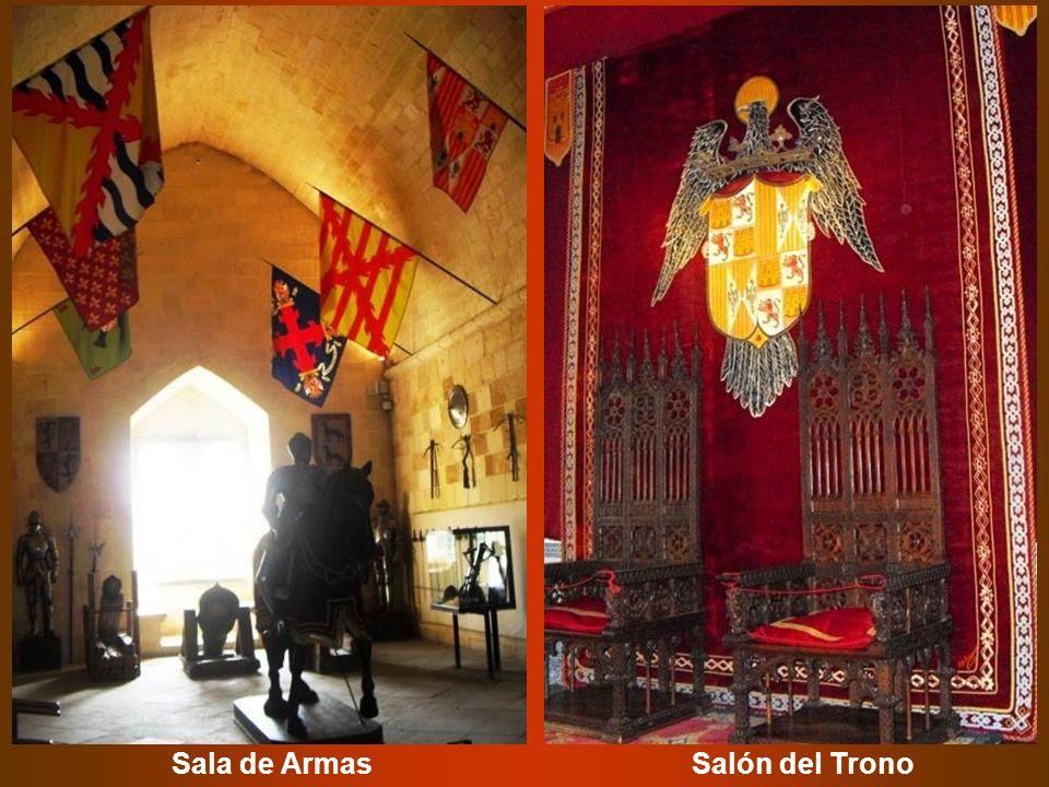 Sala de Armas Salón del Trono