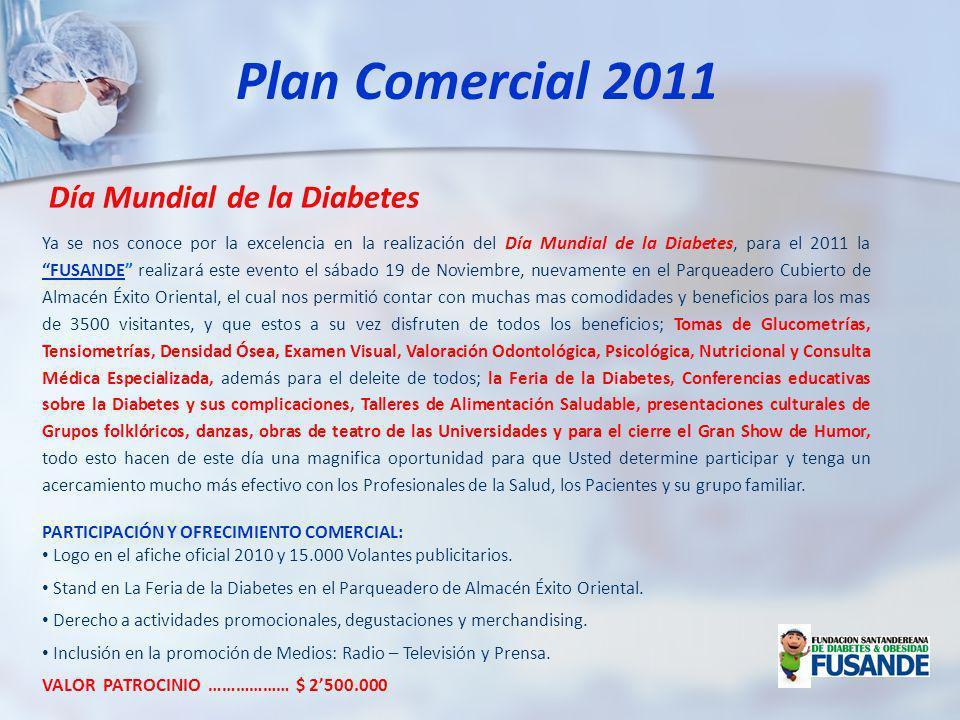 Plan Comercial 2011 Día Mundial de la Diabetes