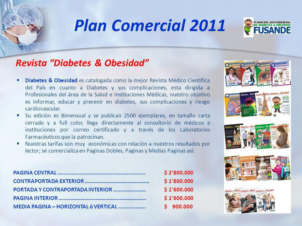 Plan Comercial 2011 Revista Diabetes & Obesidad