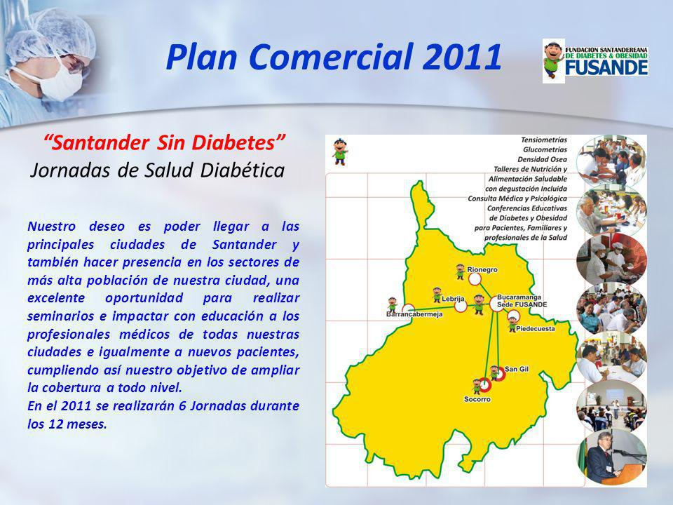 Plan Comercial 2011 Santander Sin Diabetes
