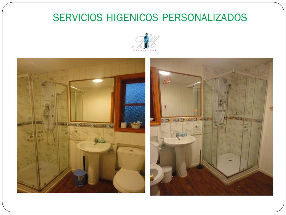 SERVICIOS HIGENICOS PERSONALIZADOS