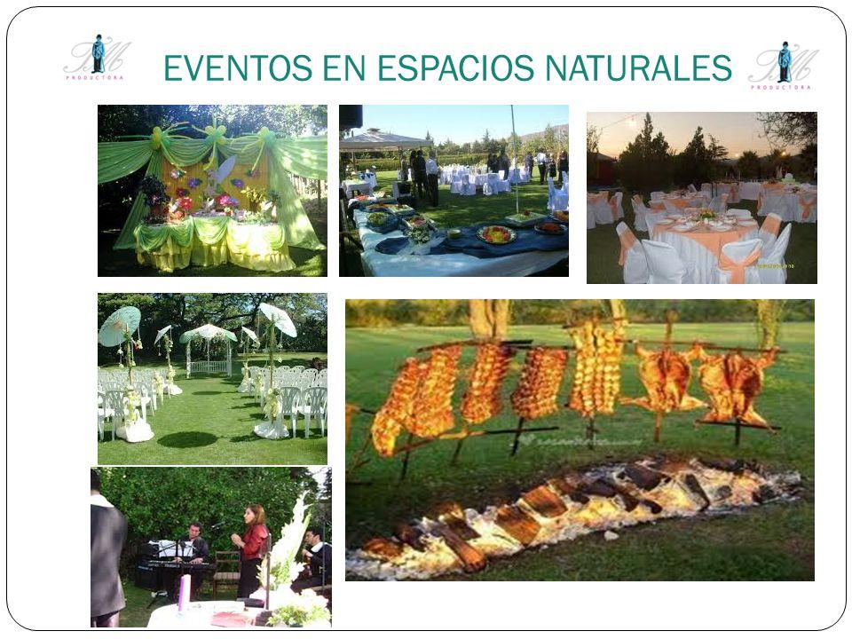 EVENTOS EN ESPACIOS NATURALES