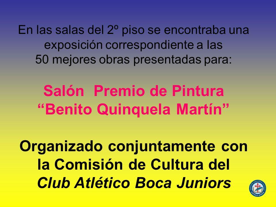 Salón Premio de Pintura Benito Quinquela Martín