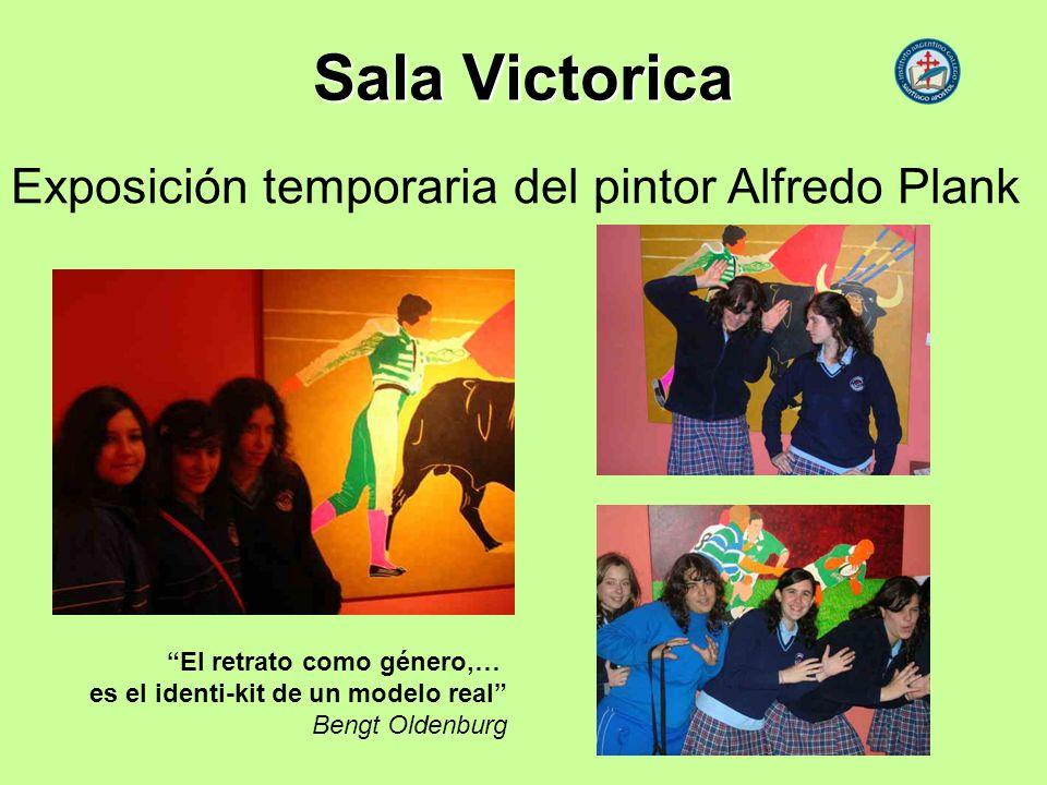 Sala Victorica Exposición temporaria del pintor Alfredo Plank