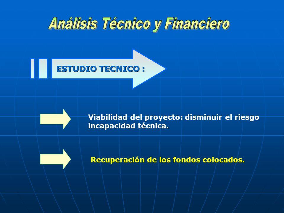 Análisis Técnico y Financiero
