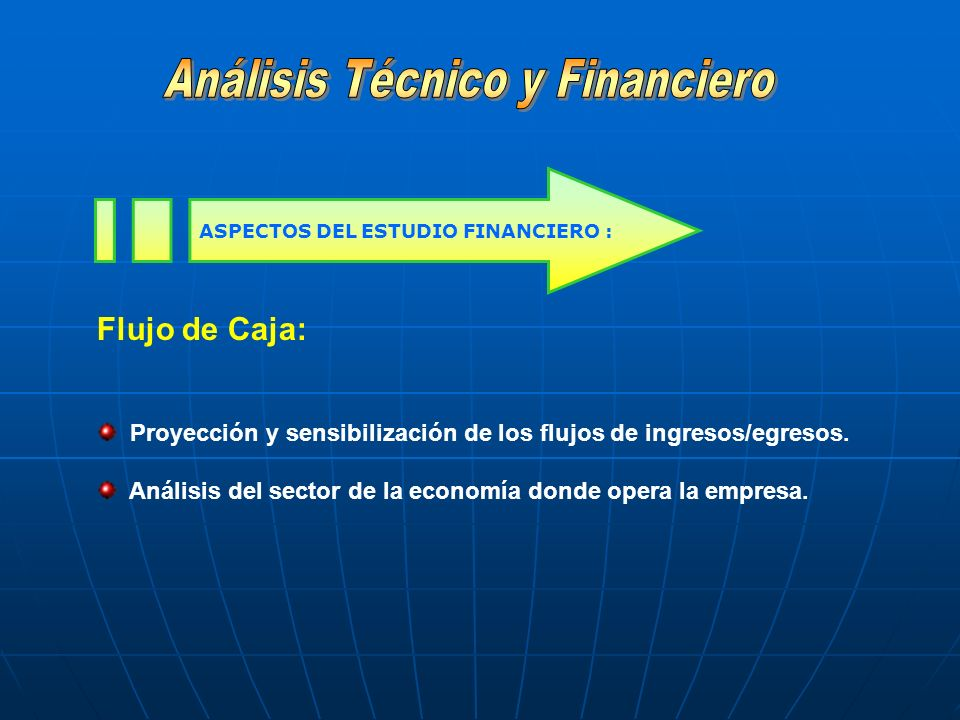 ASPECTOS DEL ESTUDIO FINANCIERO :