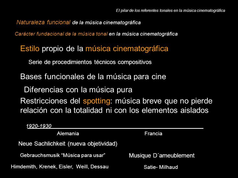 El pilar de los referentes tonales en la música cinematográfica
