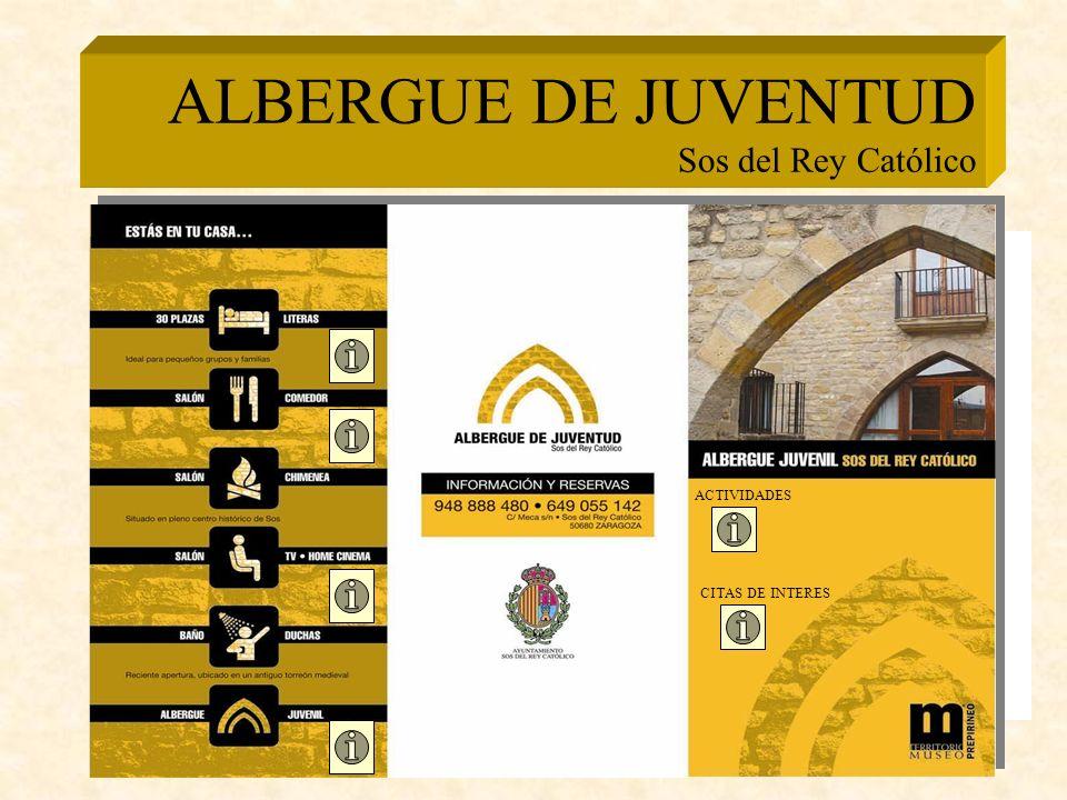 ALBERGUE DE JUVENTUD Sos del Rey Católico